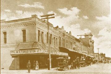 St. George Street, Gonzales, Texas 1900s