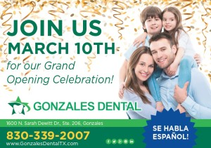Gonzales Dental Grand Opening