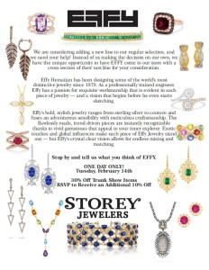 EFFY Sale at Storey Jewelers @ Storey Jewelers | Gonzales | Texas | United States