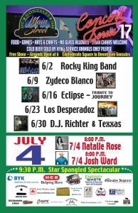 Main Street Concert Series