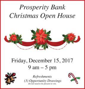 Prosperity Bank Christmas Open House @ Gonzales Prosperity Bank | Gonzales | Texas | United States
