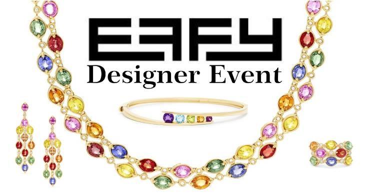 Storey jewelers effy fine jewelry designer event for Story jewelry gonzales tx