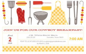 Chamber of Commerce 6th Annual Cowboy Breakfast @ J. B. Wells  | Gonzales | Texas | United States