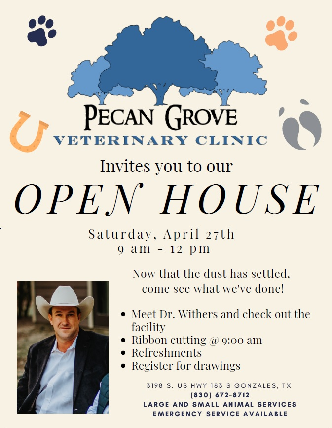 Pecan Grove Veterinary Clinic Open House & Ribbon Cutting